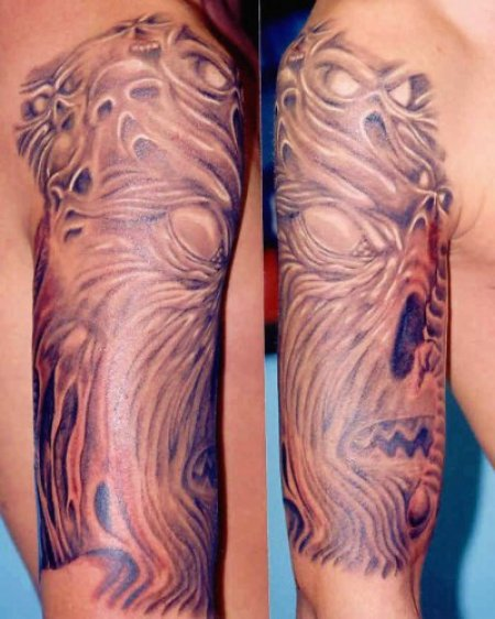 Татуировки Mystery touch Tattoo. Часть 1