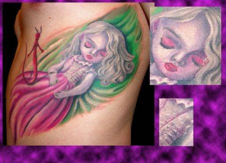 Татуировки Mystery touch Tattoo. Часть 3