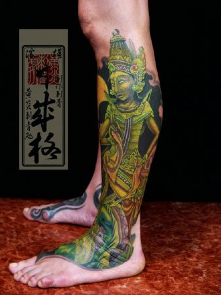 Татуировки Yellow Blaze Tattoo Studio. Часть 2