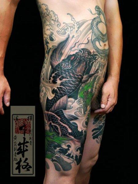 Yellow Blaze Tattoo Studio Часть 3 » Тату салон