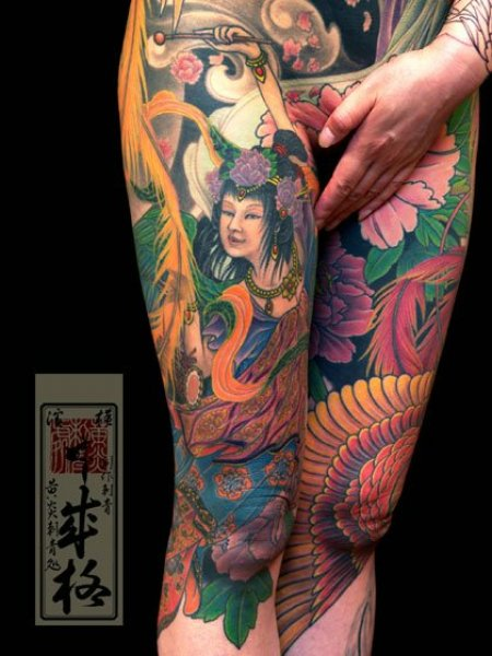 Татуировки Yellow Blaze Tattoo Studio. Часть 4