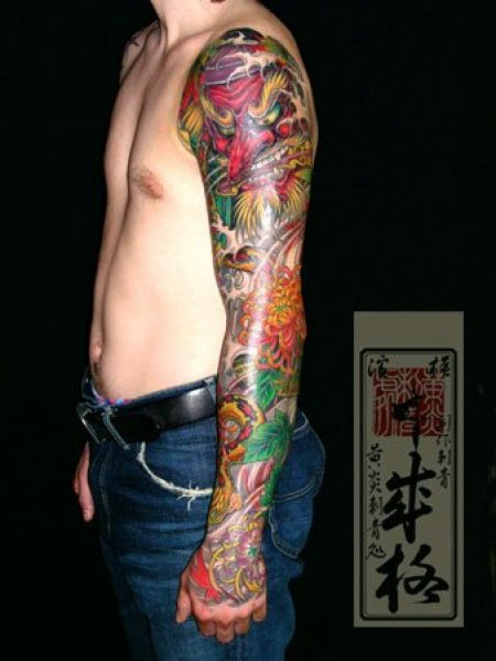 Татуировки Yellow Blaze Tattoo Studio. Часть 6