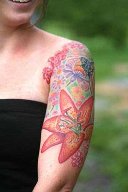 Татуировки на руках часть 1