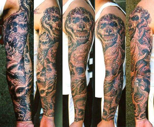 Татуировки на руке латынь