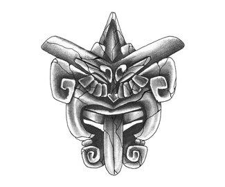 Татуировки черно белые скорпион