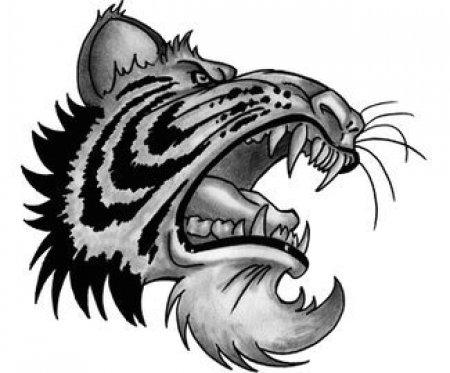 Тату эскизы: Тигры