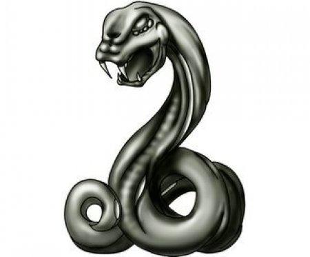 тату эскизы змеи: