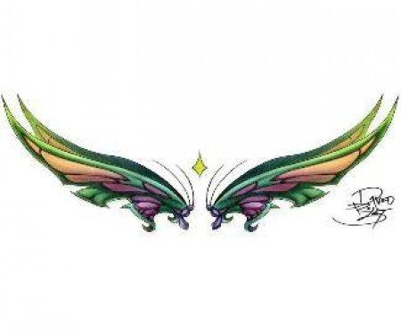 Эскиы крыльев. Часть 1