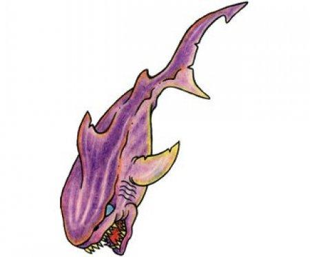 Эскизы акулы. Часть 2