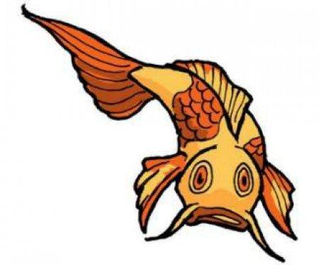 Эскизы рыбы. Часть 5