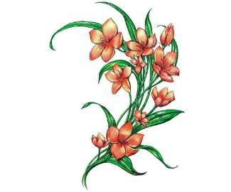 татуировки эскизы цветов.