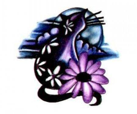 Описание картинки котов для тату tattoo