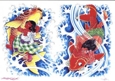 Эскизы Япония - Флеши Япония