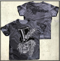 Майка AFFLICTION - SKULL COUTUREE.