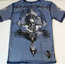 Футболка Remetee (by Affliction ) - Canterbury Henley.