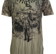 Футболка Affliction - ARMY GREEN.