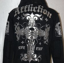Свитер, HOODIE - AFFLICTION: CROSS OJEDA.