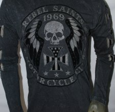 Футболка Rebel Saints (by Affliction) - MOTORCYCLE CLUB.