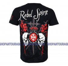 Футболка REBEL SPIRIT - SKULL & SWORD.