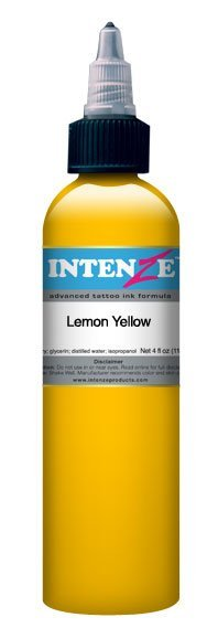 Краска Intenze Lemon Yellow