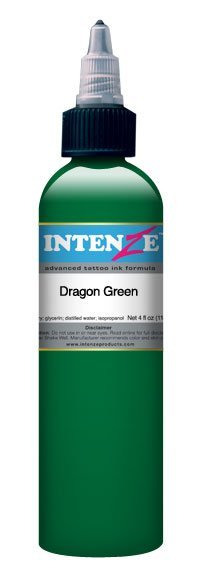 Краска Intenze  Dragon Green