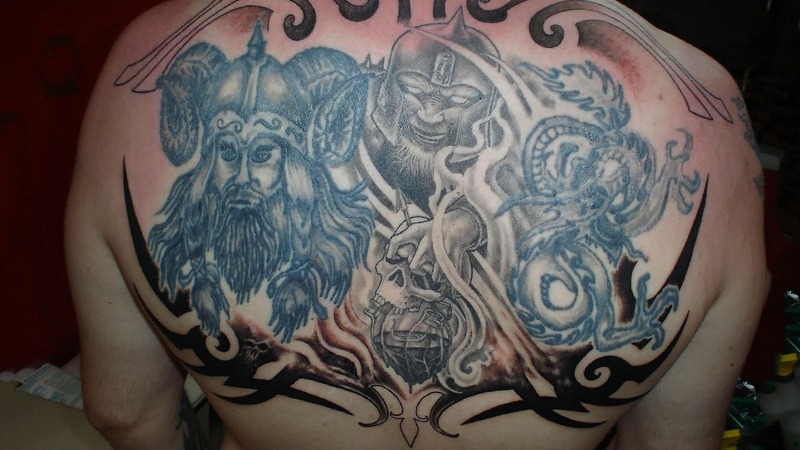 Изменение изображения татуировки